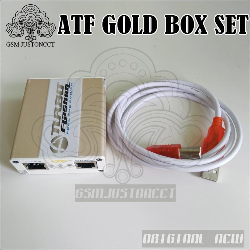 2018 100% Original nouvelle avance Tubro boîte atf boîte atf or boîte atf édition limitée boîte avec activation SL1 SL2 SL3 JTAG EMMC