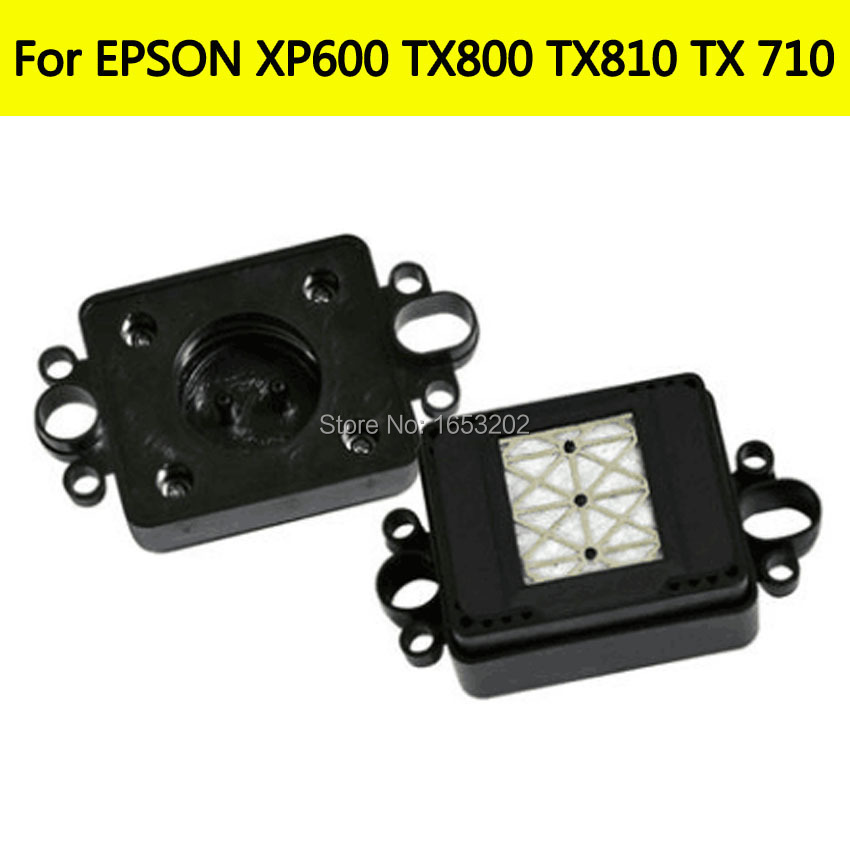 5PC NEW ink Capping Station For EPSON XP600 TX800 TX810 TX710 A800 TX820 Plotter Printer Cap Top Print head F192040 Printhead new model inkjet printer print head 1h capping station for epson 5113 single head cap station
