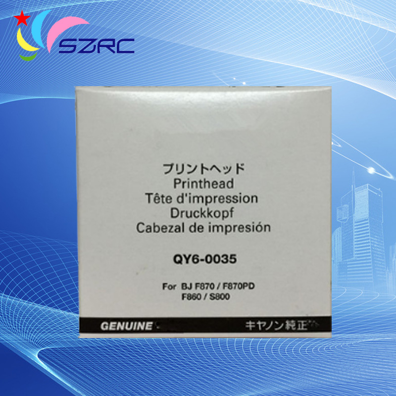 Original Print Head QY6-0035 Printhead Compatible For Canon BJC-8200 S800 BJ F860 BJ F870 Printer head high quality original print head qy6 0057 printhead compatible for canon ip5000 ip5000r printer head