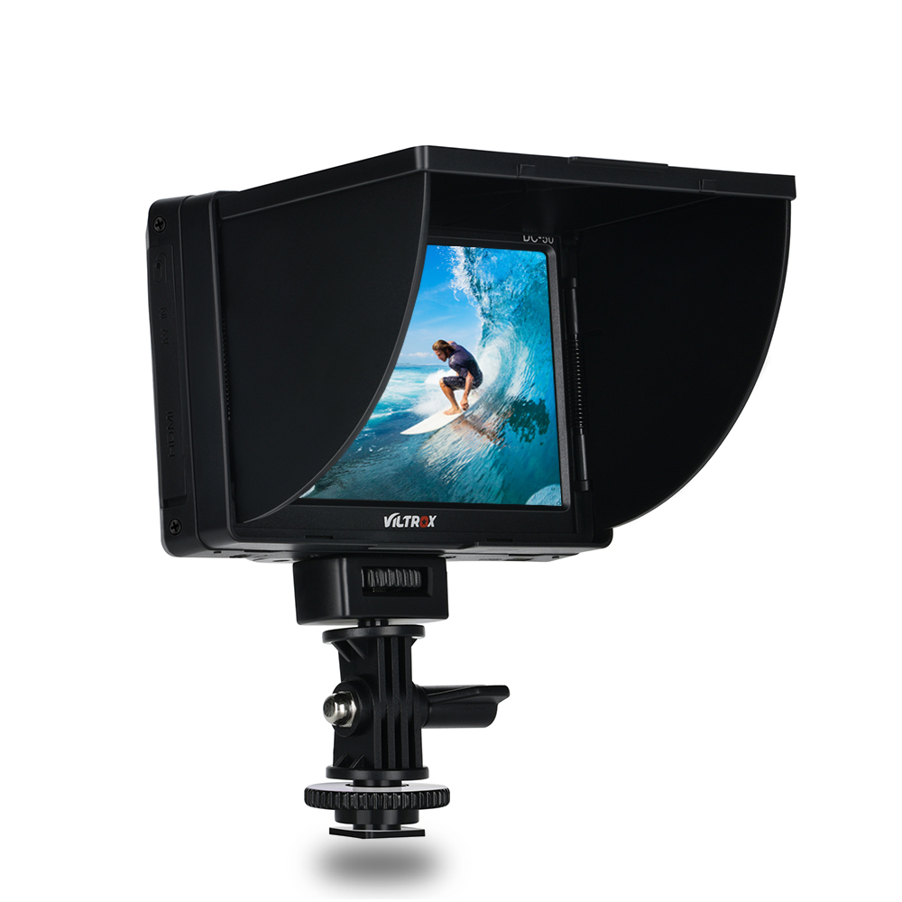 Viltrox DC 50 Viltrox DC-50 Portable 5 Inches Screen 480P Clip-on Color LCD Monitor HDMI for Camera Photo Studio Accessories банка для сыпучих продуктов melba банка для сыпучих продуктов