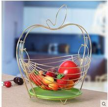 Creative fruit bowl living room set up a candy tray and basket