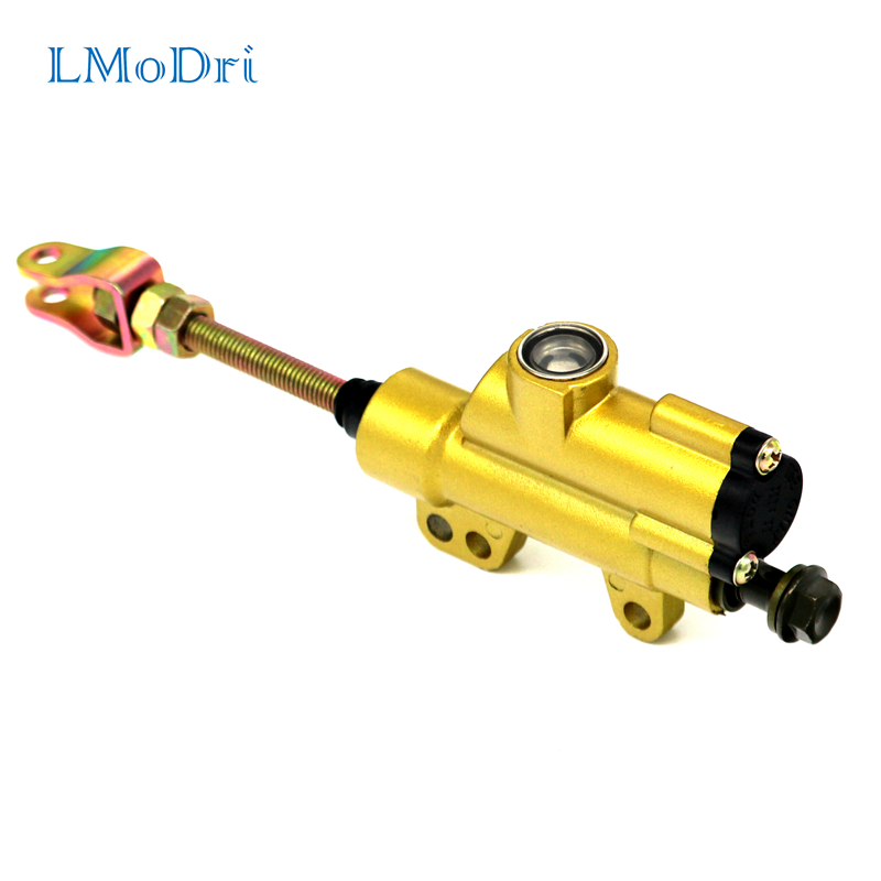 LMoDri Motorcycle Rear Brake Master Cylinder Pump For ATV Taotao Coolster Baja BMS Roketa Dirt Pit Quad Dirt Pit Bike in Levers Ropes Cables from Automobiles Motorcycles