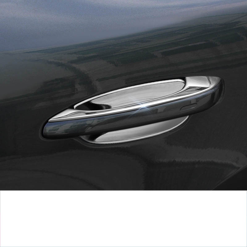 lsrtw2017 stainless steel car door handle chrome car door bowl trims for porsche cayenne 2018 2019 2020lsrtw2017 stainless steel car door handle chrome car door bowl trims for porsche cayenne 2018 2019 2020