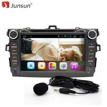 """Junsun 8 """"2 Din Android 6.0 del coche dvd radio navegación gps autoradio Radio mandos en el volante Para Toyota corolla 2007 ~ 2011"""
