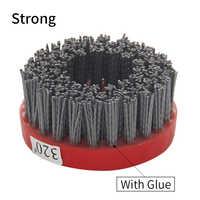 Grit 24-800 110mm Schleif Draht Antike Pinsel Oberfläche Schleifen Stein Verarbeitung Holz Möbel Polieren Pinsel
