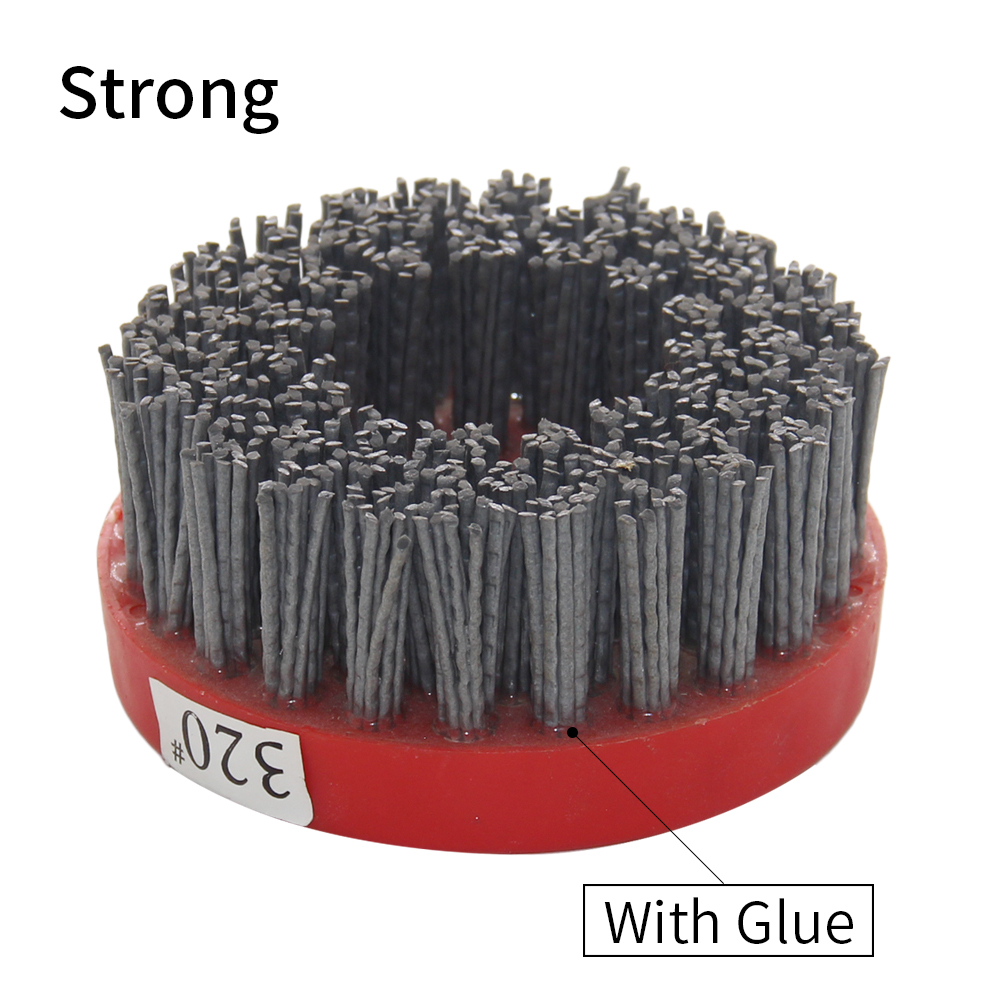 Grit 24-800 110 Mm Abrasive Wire Antique Brush Surface Grinding Stone Processing Wood Furniture Polishing Brush