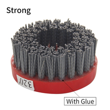 цена на Grit 24-800 110 mm Abrasive Wire Antique Brush Surface Grinding Stone Processing Wood Furniture Polishing Brush