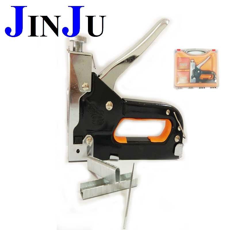 3 way in 1 multitool nail staple gun furniture stapler for wood door upholstery framing rivet