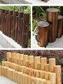 40 см забор из цельного дерева  внутренний забор для сада  садовый забор для детского сада  цветочный сад  украшение для овощей  небольшой заб...