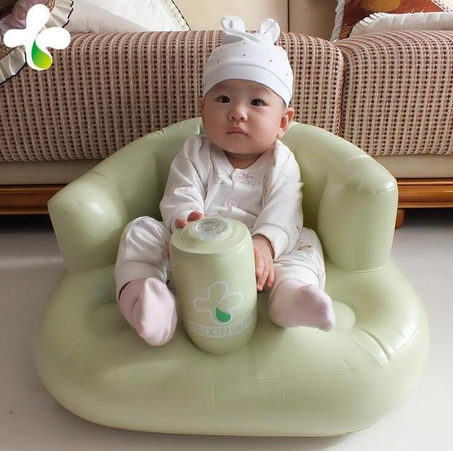 Os bebês aprendem as crianças comem cadeira cadeira de bebé assento do bebê sofá multifuncional sofá inflável portátil cadeira 0 - 5 anos crianças sofá