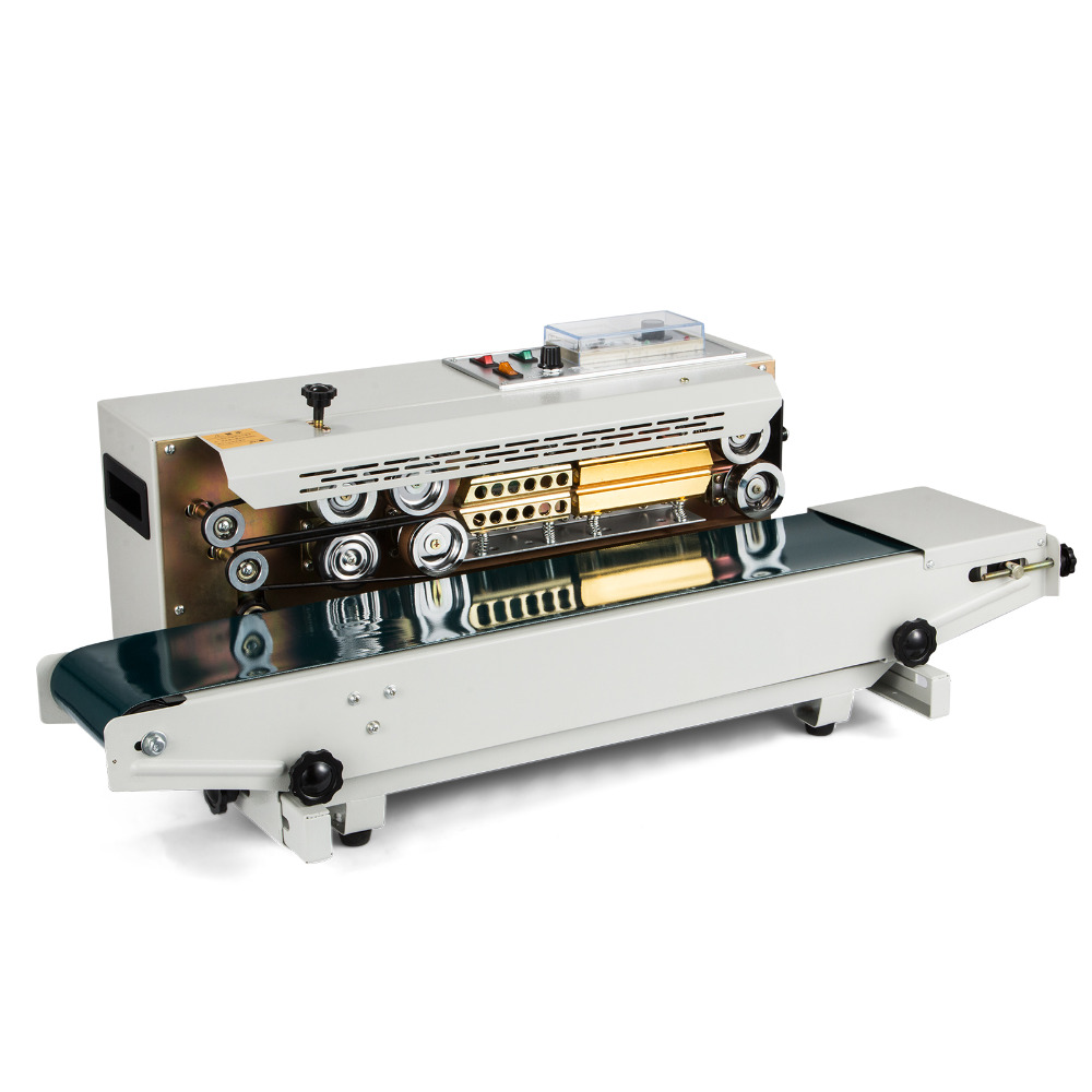 US $396 72 5% OFF|Europe Stock Sealing Machine Automatic Horizontal  Continuous Plastic Bag Band Sealing Sealer Machine FR900-in Power Tool  Accessories