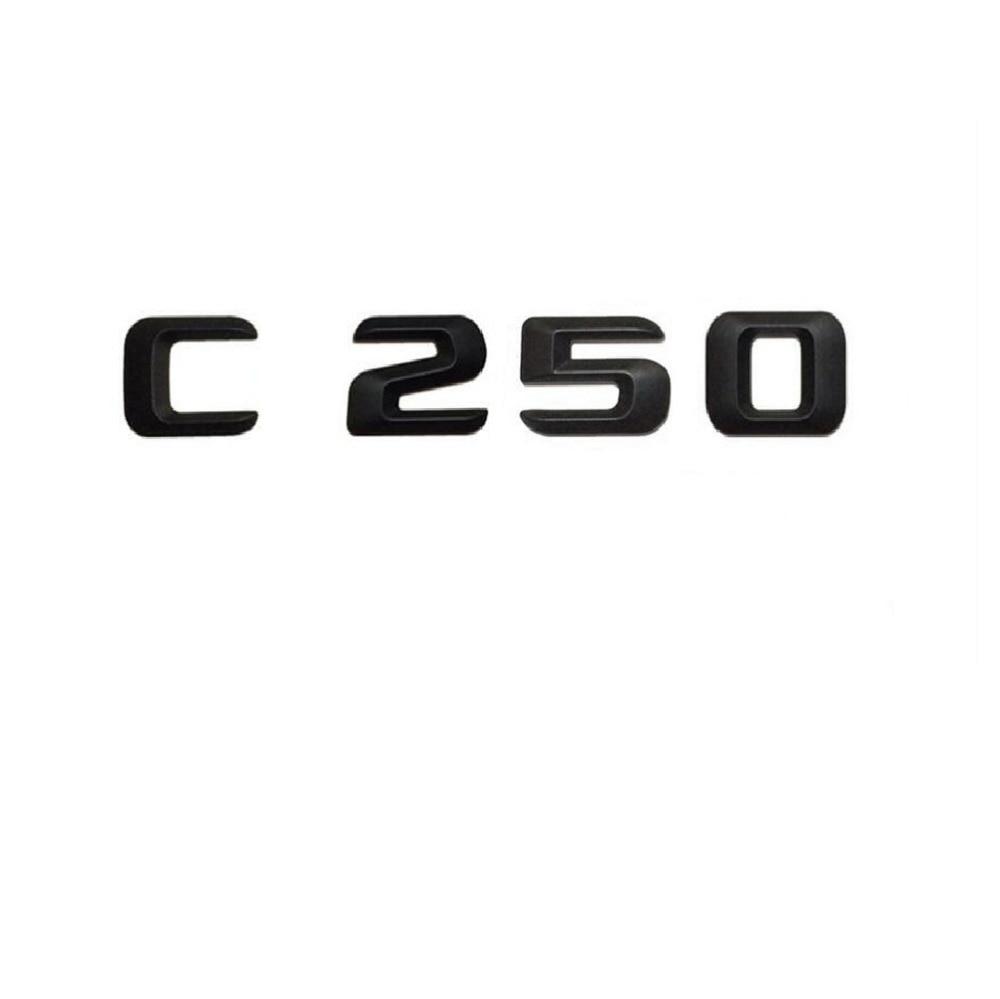 C63 C63S AMG W204 W205 Embl/ème pour hayon arri/ère Noir