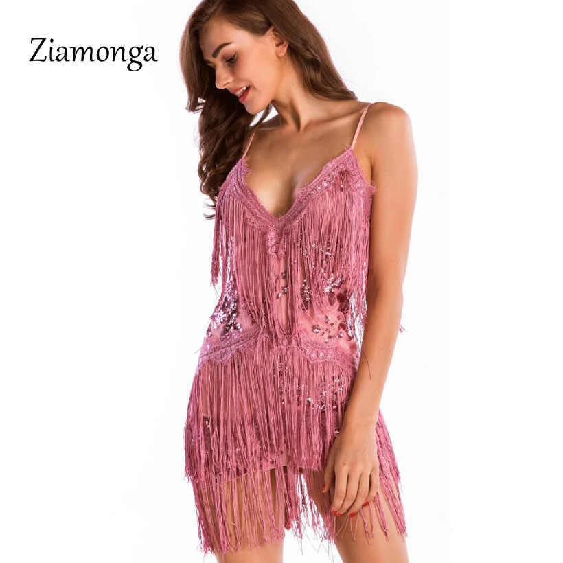54b0690b86 Ziamonga Woman Vestido De Festa Flapper Fringe 1920S Gold Vintage Great  Gatsby Sequin Tassel Party Dress Sexy Women Summer Dress