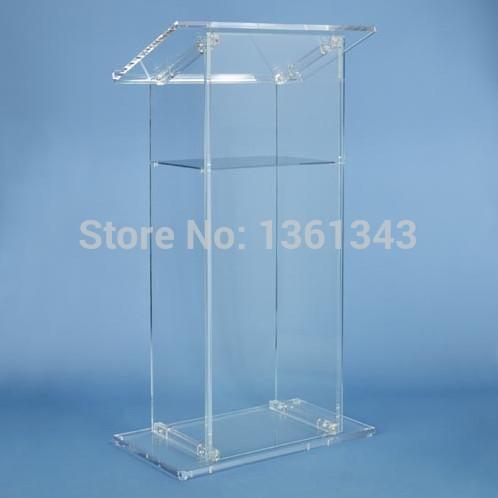 Clear acrylic podium/Custom .acrylic podium Acrylic Lectern/Plexiglass Pulpit.acrylic podium