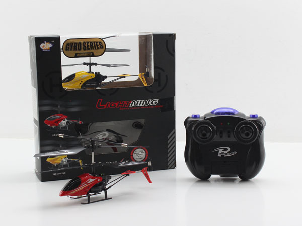 Wholesale Remote Control Toys DONGHUANG(DH829D-3) 3 Channel Radio Remote Control Alloy RC Mini Helicopter Toys with Gyro