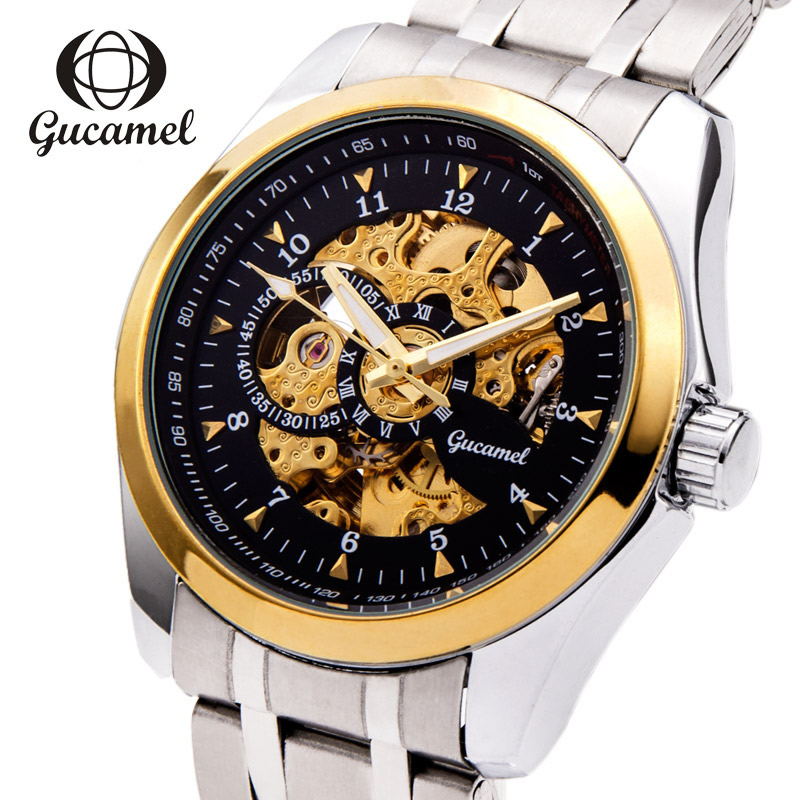 Luxury stainless steel Watch Men Business Casual quartz Watches Automatic Mechanical Military Wristwatch waterproof Relogio