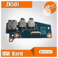 For asus laptop switch board zx50j notebook USB small board audio board