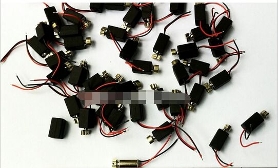 Free Shipping 80pcs Mini Pager Vibrating Vibrator Micro Mobile Motor 4mm X 8mm Vibration Pager Motor Diameter 4mm