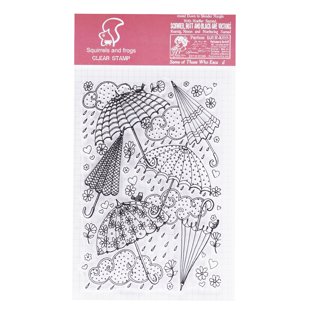 Autone Fairy Clear Stamps for Cards Making Silicone Stamps for DIY Scrapbooking Album Paper Cards Making Decoration