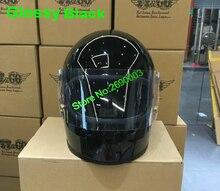 Бесплатная Shipping2016 Новый шлем Японский Томпсон мотоциклетный шлем Съемный подбородок Дух Rider Ретро Harley Мотокросс Шлемы
