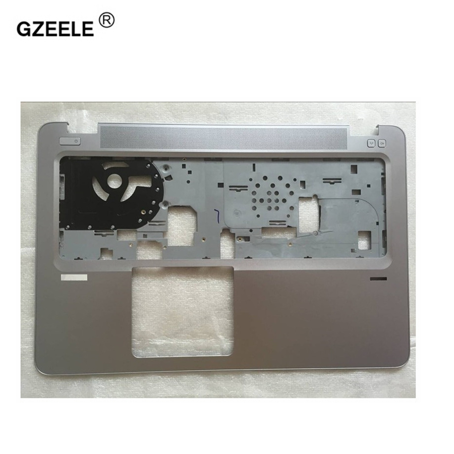 GZEELE NEW laptop upper case shell for HP for EliteBook 850 G3 Palmrest COVER C shell 821191-001 6070B0882901 keyboard bezel brand new and orig laptop case for hp elitebook 820 g3 725 g3 lcd back cover with a shell case sliver 821672 001