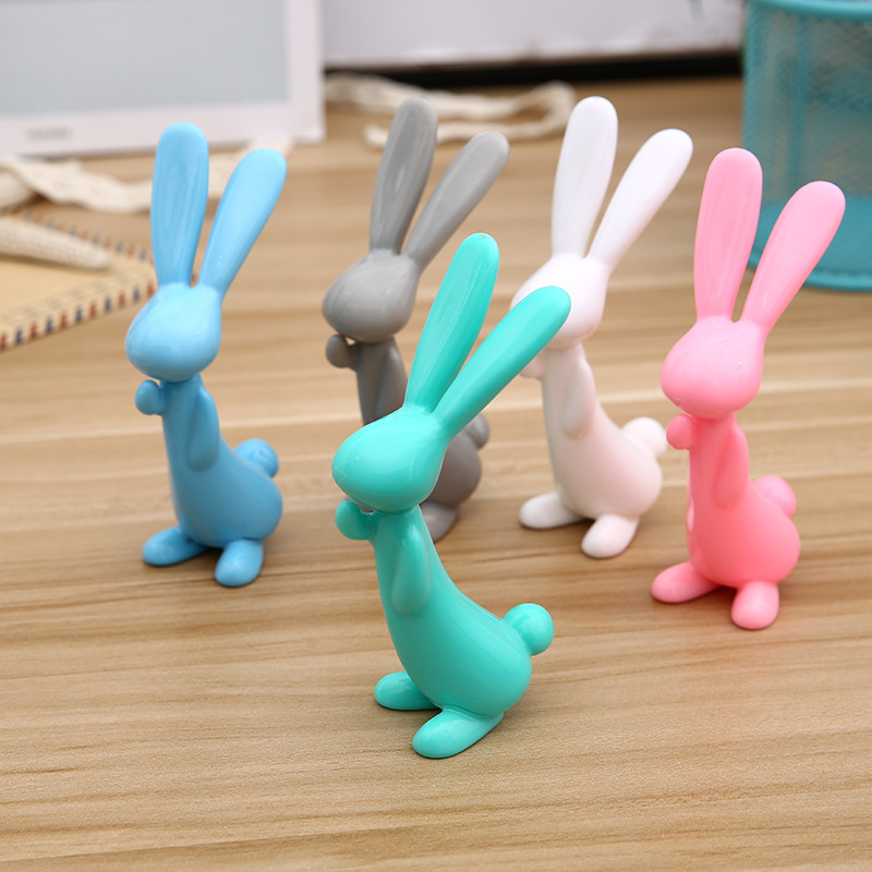 100pcs lot Cute Rabbit Ballpoint Pen Creative Cartoon Gift Pen 1 0MM for School Kawaii Student