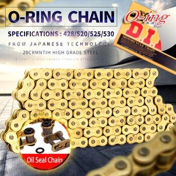 O ring O-ring seal DID 530 VX 120L 120 link chain for Universal honda yamaha kawasaki suzuki ATV dirt bike off road motorcycle