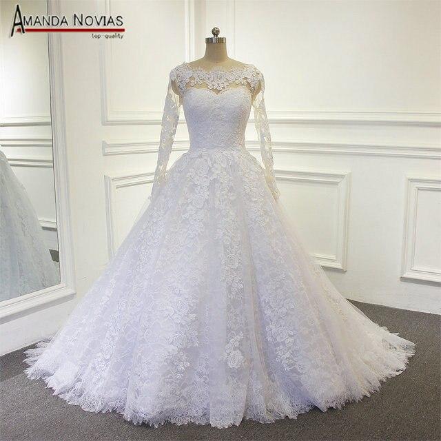פשוט אונליין תחרה חתונה שמלת 2019 vestido דה noiva כלה שמלה