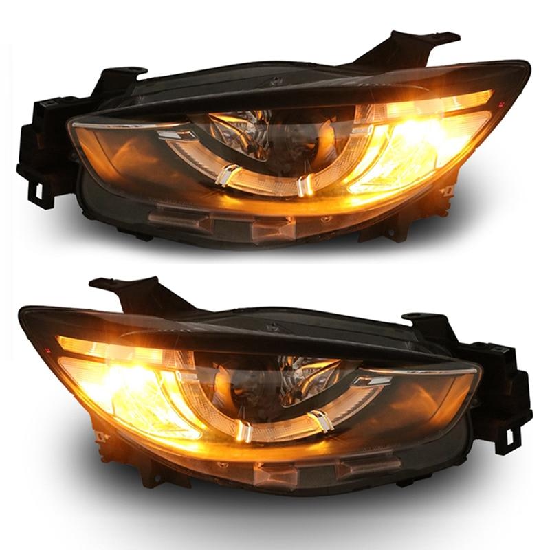 for Mazda CX-5 Bi-xenon projector lens headlights New Arrival mazda cx 5 киев