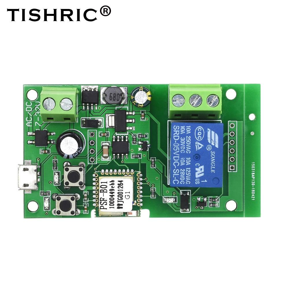 EWelink Smart Wifi Switch Relay Module Timer DC 5V/12V/24V/32V Wireless Remote Control Inching/Self-Locking Alexa Google Home