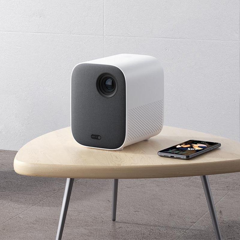 Xiaomi mijia mini projetor portátil montagem projeção 1080p projetor 500 ansi lumens miui tv hdr10 2.4g/5g wifi