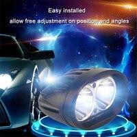1 Sätze 3D Styling 20 Watt 6500 Karat 8000lm LED Arbeitslicht Bar Lampe für Driving Truck SUV Offroad Auto Flut Spot-Licht 10 V-30 V Heißer verkauf