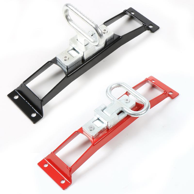 Red Black Car Foot Rest Pedal Metal Car Door Hinges Foot Rest Pedals Plate Exterior Pedal Board Trim For Jeep Wrangler 2007-2016 new hq aluminum alloy bias design car throttle pedal foot pedal rest plate at mt for rover freelander 2