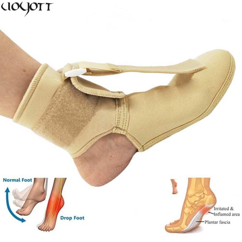 28fa71c4f252 Medical Foot Drop Ankle Splint Support Massage Plantar Fasciitis Dorsal  Night Splint Foot Orthosis Stabilizer Arthritis