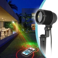 Kingoffer RGB 20 In 1 Big Laser Projector Outdoor Waterproof IP65 Stage Light for Christmas Lawn Tree Pool Party Landscape Show