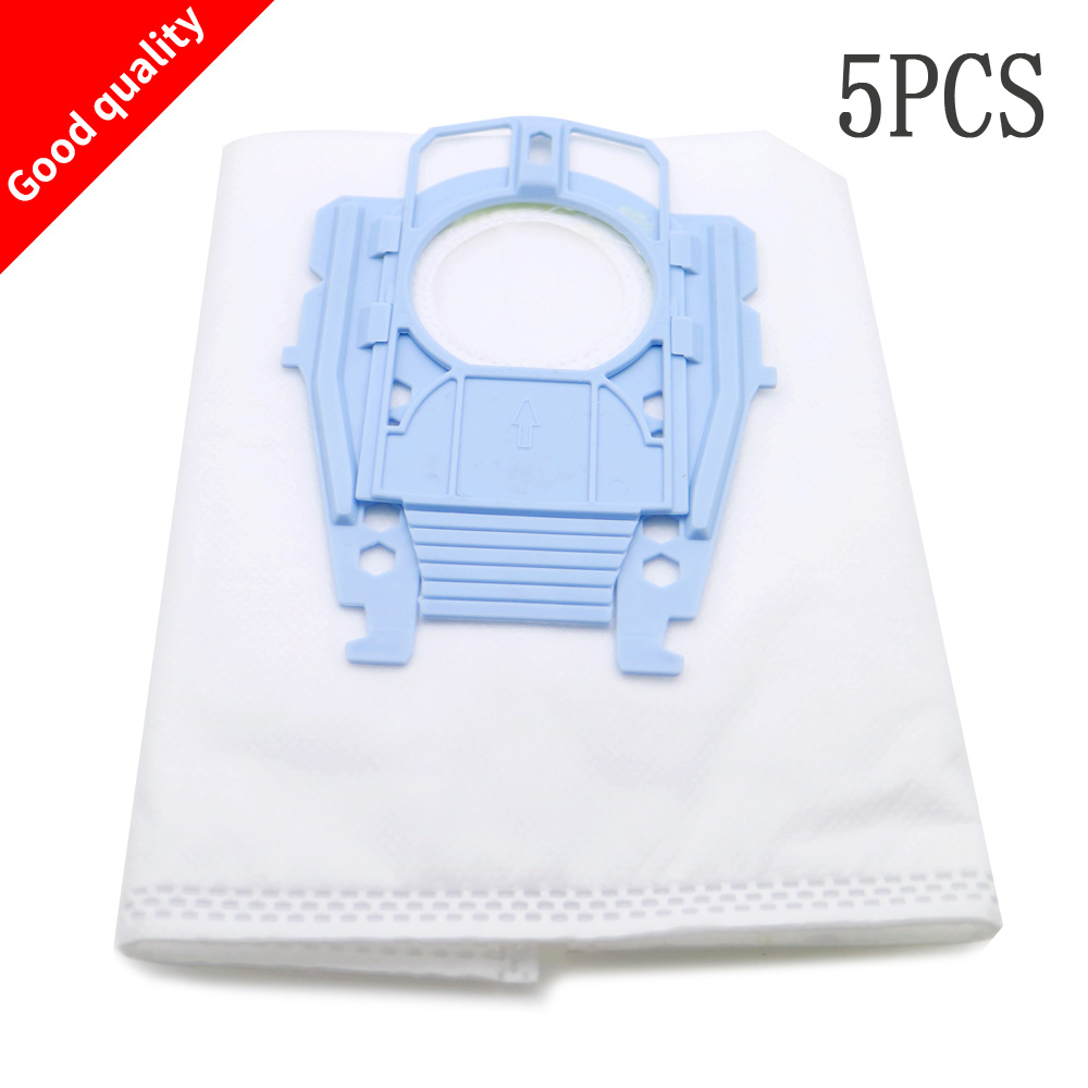 5pcs/lot Good Vacuum Cleaner Microfleece Type P Filter Dust Bag for Bosch Hoover Hygienic professional BSG80000 468264 461707 free shipping vacuum cleaner dust bag fit for genuine bosch vacuum cleaner hoover dust bags type p 468264 461707 pack of 10