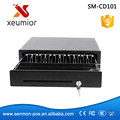 4/5/6/8 Bills/8 Coins Electronic Cash Register, Thick gauge cold rolled steel Pos USB Cash Drawer with Micro-switch sensor