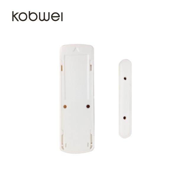 433MHZ Wireless door/window alarm sensor with 100m wireless range PT2262/EV1527 coding mode switchable