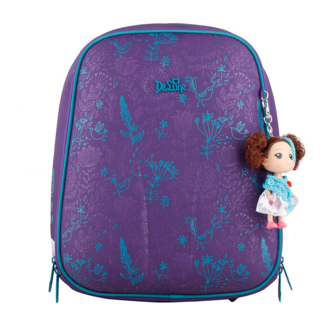 High Quality Orthopedic Waterproof Children School Bags For Girls Primary 1-5 Grade Kids School Backpack Mochila Escolar 3 Color