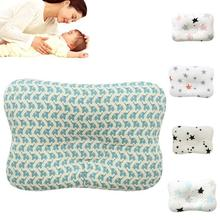Breathable baby pillow nursing pillow Newborn Infant headrest sleeping positioner Baby pillow to prevent flat head Bedding D3