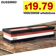 1000 3000# double sides professional Kitchen Whetstone Sharpening Stones for a Knife Sharpener Knife System diamond kitchenware
