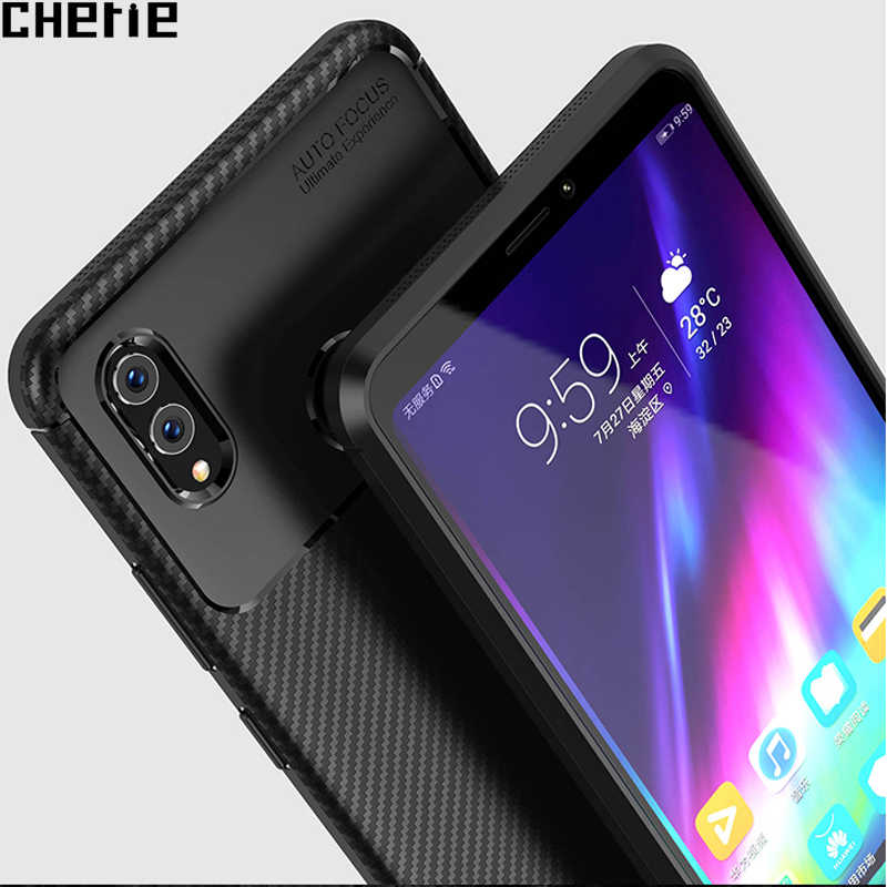 For Huawei Honor Note 10 Case Protective Back Cover Bag Brushed Carbon Fiber TPU Soft Silicone Case For Huawei Honor 10 Fundas