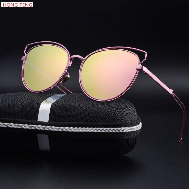 Hong Teng New Arrivals Cat Eye Polarized Lens Colorful s