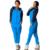 Conjunto de inverno Mulheres Com Capuz fatos de Treino Exercício Zipper Chapéu de Lazer Terno Feminino Calças Camisola Terno Maré Moda Outono 2 Peça