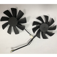 87MM 100MM Cooler Fan For ZOTAC GTX 1060 1070 Ti MINI HA 1080 Ti MINI Dual Graphic Card Cooling Fan
