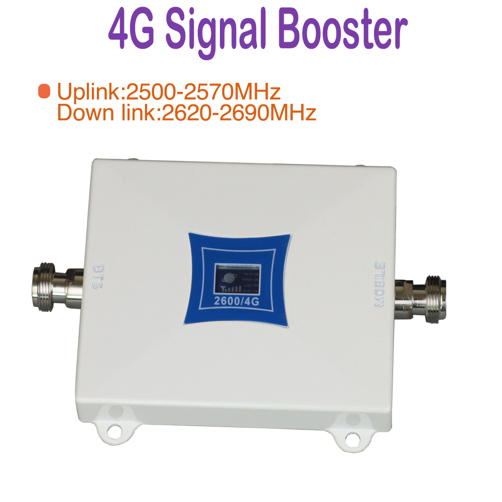 signal booster amplifier 4g mobile phone signal boost 2600mhz cell phone signal repeater 4g cell phone