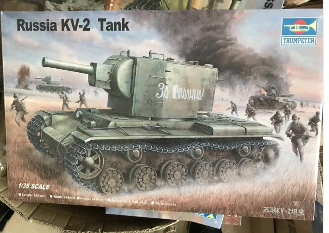 KV2 Soviet Heavy Tank Assembly Model Building Kits building soviet citizens with american tools