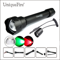 UniqueFire Protable LED Flashlight UF 1501 XRE Led Torch 3 Modes Outdoor Shooting Lamp Torch+Remote Pressure For Hunting