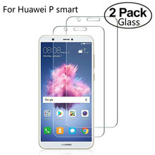 2 Pack Glass For Huawei P Smart Tempered Glass For Huawei P Smart Screen Protector For Huawei Enjoy 7s Glass Protective Film 9H цена