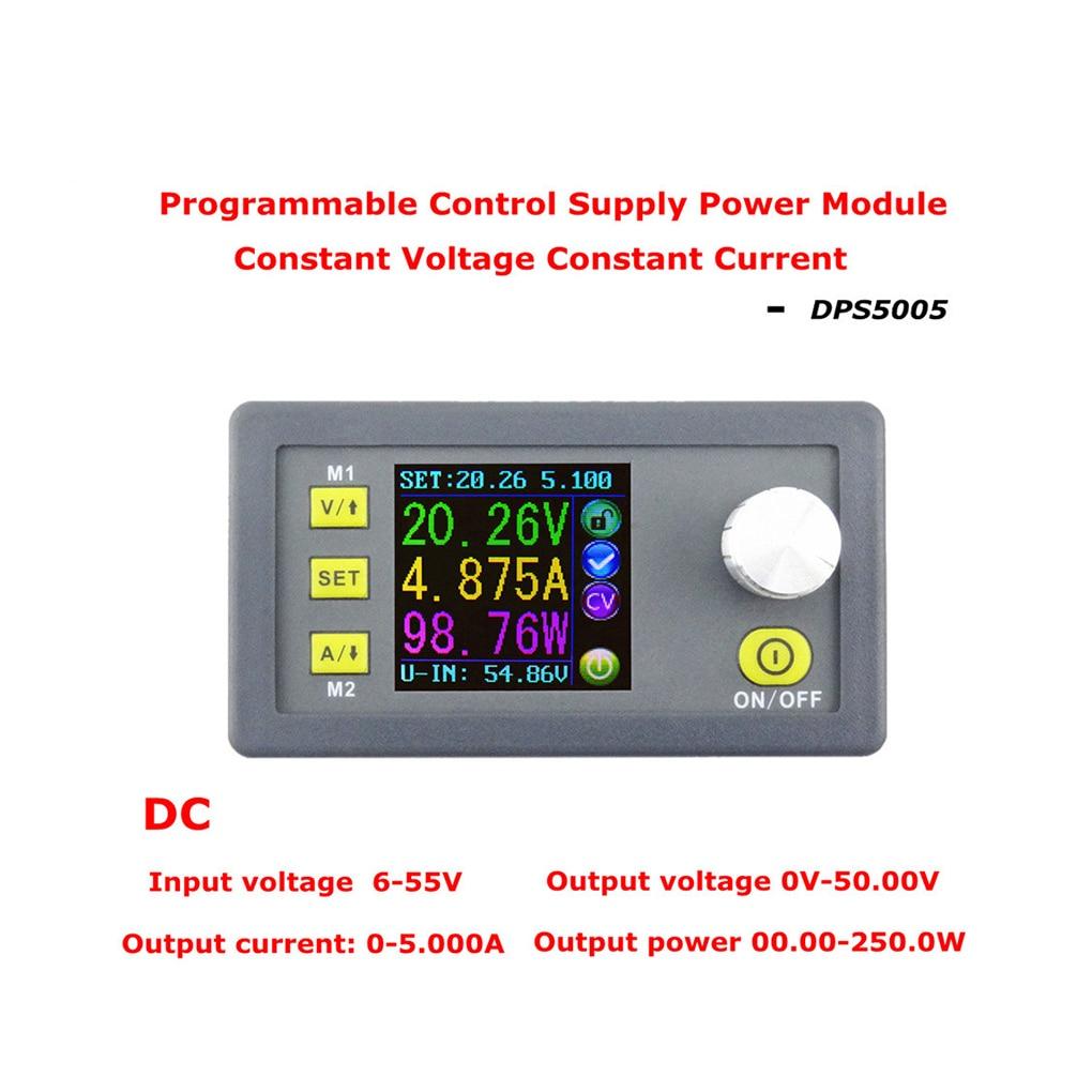 DPS5005 50V 5A Constant Voltage Current Step-down Power Supply Module Buck Voltage Converter Voltmeter dps5005 voltage meter regulator converter adjustable programmable power supply module buck voltmeter ammeter current tester 8%